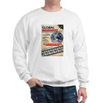 Global Warming Hollywood Vintage Poster Sweatshirt