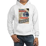 Global Warming Hollywood Vintage Poster Hooded Swe
