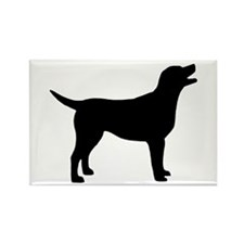 labrador retriever Rectangle Magnet