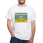 B.F.C. Exit White T-Shirt