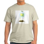 One is the First Step to a Million Light T-Shirt