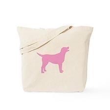 pink labrador retriever Tote Bag