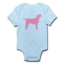 pink labrador retriever Infant Bodysuit
