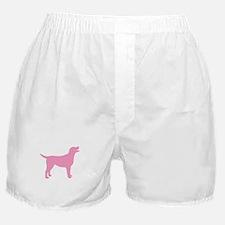 pink labrador retriever Boxer Shorts