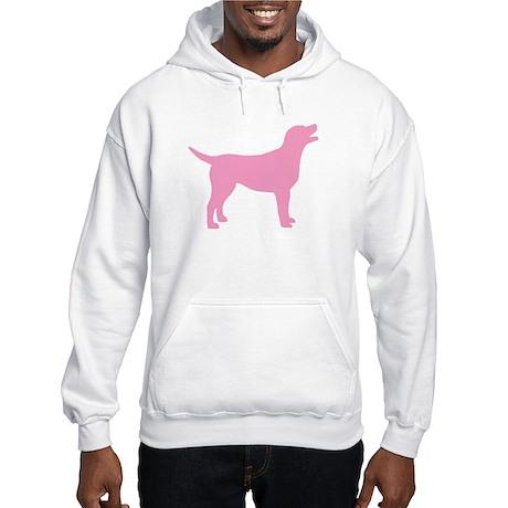 pink labrador retriever Hooded Sweatshirt