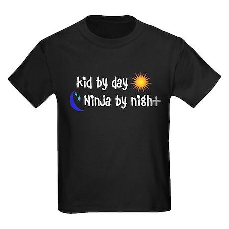 Kid by day Kids Dark T-Shirt