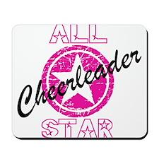 All Star Cheerleader Pink Mousepad