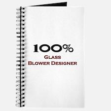 100 Percent Glass Blower Designer Journal