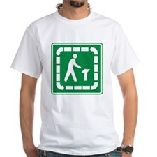 Trail Pedestrian Sign Shirt