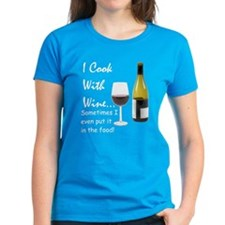 Cook with Wine Tee