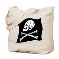 Pirate Flag Tote Bag