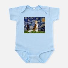 Starry Night & Saluki Infant Creeper