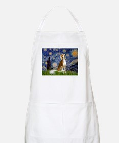 Starry Night & Saluki BBQ Apron