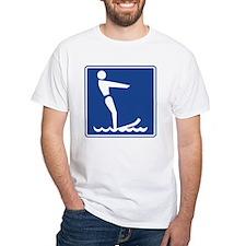 Water Skiing Sign Shirt