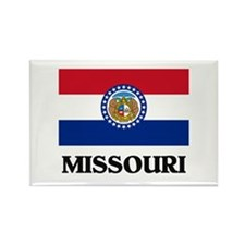 Missouri Rectangle Magnet