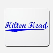 Vintage Hilton Head (Blue) Mousepad