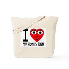 I (Heart) My Honey Bun Tote Bag