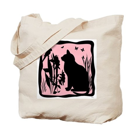 SPRING KITTY AND BUNNY Tote Bag