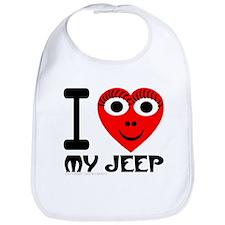 I (Heart) My Jeep Bib