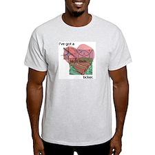 High Tech Ticker Ash Grey T-Shirt