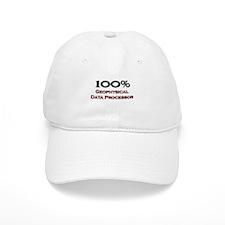 100 Percent Geophysical Data Processor Baseball Cap
