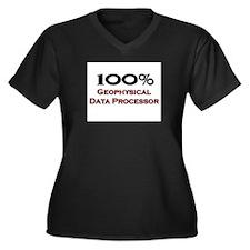100 Percent Geophysical Data Processor Women's Plu