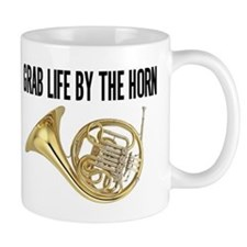Grab Life By The Horn a Mugs