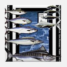 Game Fish Art Tile Coaster