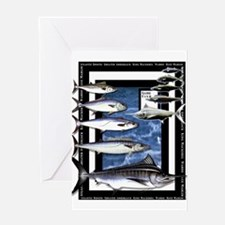 Game Fish Art Greeting Card