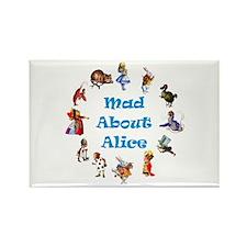 WONDERLAND CIRCLE Rectangle Magnet (100 pack)