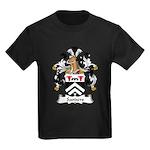 Sanders Family Crest Kids Dark T-Shirt
