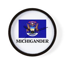 Michigander Wall Clock