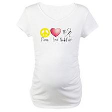 Peace, Love, Needlepoint Shirt