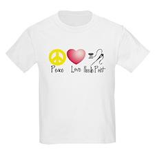Peace, Love, Needlepoint T-Shirt