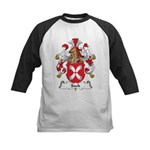 Sack Family Crest Kids Baseball Jersey