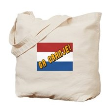 Ga oranje Flag Tote Bag