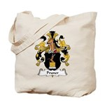 Pruner Family Crest Tote Bag