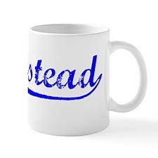 Vintage Homestead (Blue) Mug