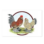 Belgian d'Uccle Bantams Postcards (Package of 8)