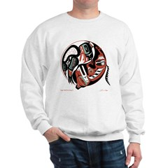 Eagle Wolf Yin-Yang Sweatshirt
