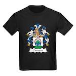 Prangen Family Crest Kids Dark T-Shirt