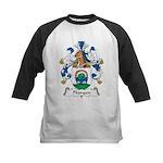 Prangen Family Crest Kids Baseball Jersey