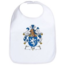 Post Family Crest Bib