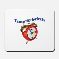 Time To Stitch - Crafts Mousepad