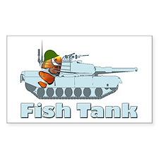 Fish Tank Rectangle Decal