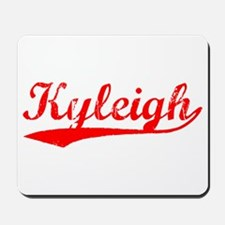 Vintage Kyleigh (Red) Mousepad