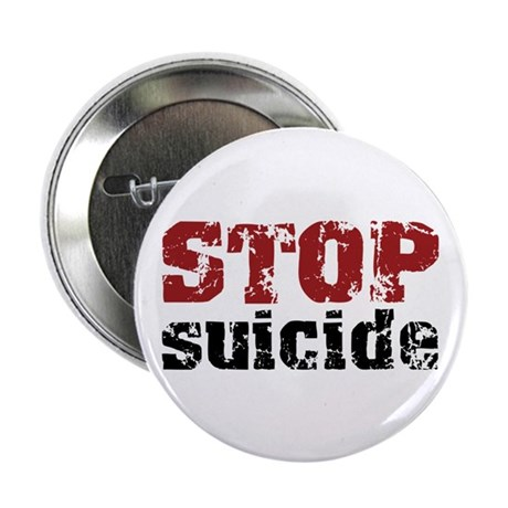 """STOP Suicide 2.25"""" Button (10 pack)"""