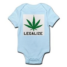 Legalize Marijuana Infant Creeper