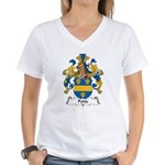 Pohle Family Crest Women's V-Neck T-Shirt