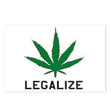 Legalize Marijuana Postcards (Package of 8)
